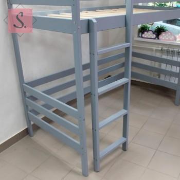 Кроватка-домик двухъярусная