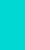 Бирюзово-розовый