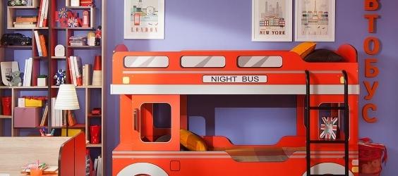 Детские кровати домик и чердак
