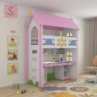 Детская кровать Ромашка кабинет