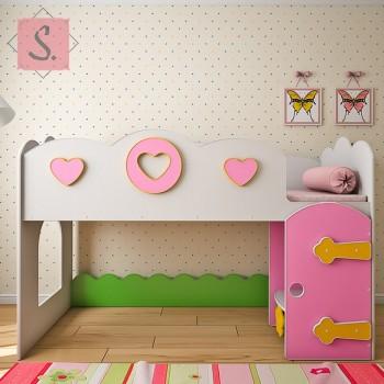 Кровать чердак Принцесса