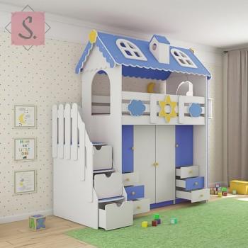 Кровать Коттедж гардероб