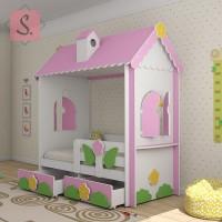 Кровать домик Люкс
