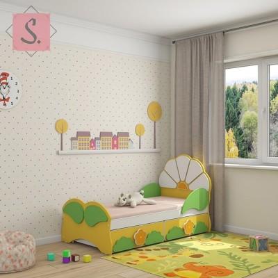 Детская кровать Ромашка Люкс