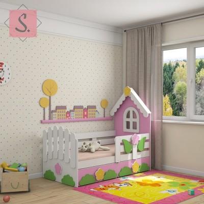 Детская кроватка Теремок