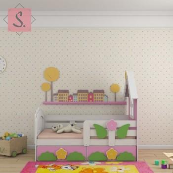 Кроватка Теремок