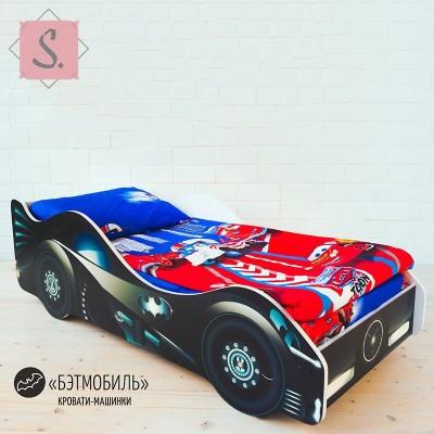 Детская кроватка Машинка - Бэтмобиль