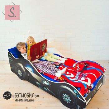 Кроватка Машинка - Бэтмобиль