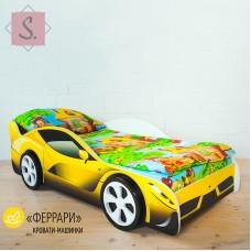 Кроватка Машинка - Феррари