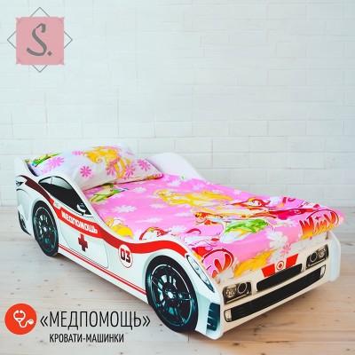 Детская кроватка Машинка - Медпомощь