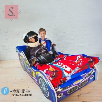 Кроватка Машинка - Молния