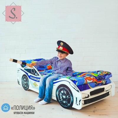 Детская кроватка Машинка - Полиция