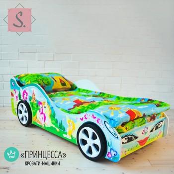 Кроватка Машинка - Принцесса