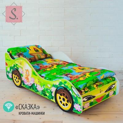 Детская кроватка Машинка - Сказка