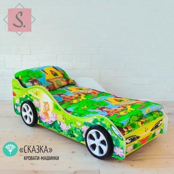 Кроватка Машинка - Сказка