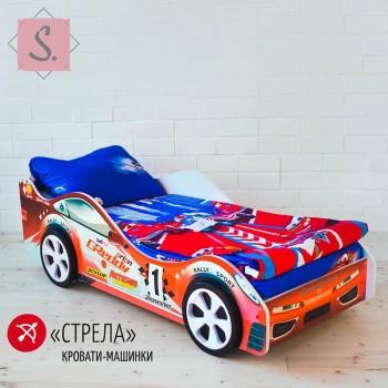 Кроватка Машинка - Стрела