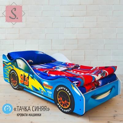 Детская кроватка Машинка - Тачка синяя