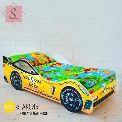 Детская кроватка Машинка - Такси