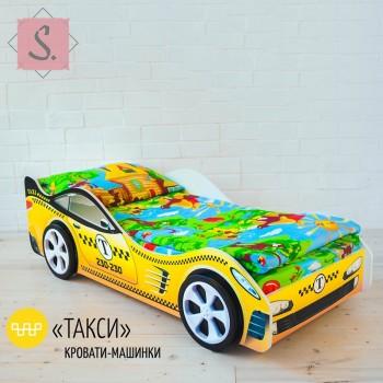 Кроватка Машинка - Такси