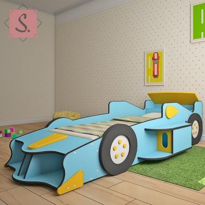 Детская кровать машинка Формула 1