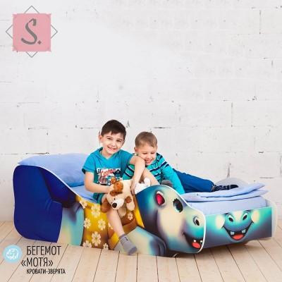 Детская кроватка Бегемот Мотя