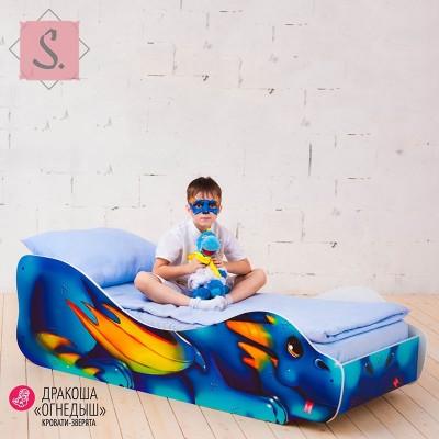 Детская кроватка Дракоша Огнедыш