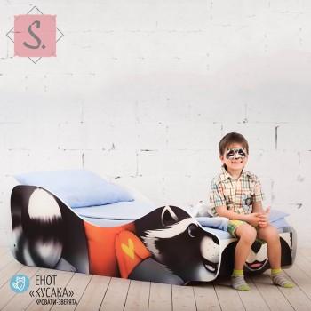 Кроватка Енот - Кусака