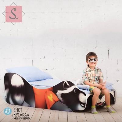 Детская кроватка Енот Кусака