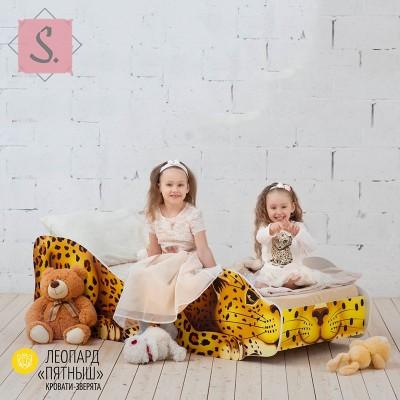 Детская кроватка Леопард - Пятныш