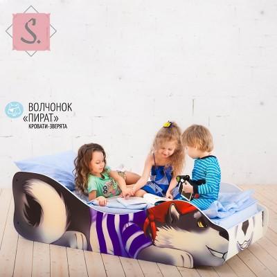 Детская кроватка Волчонок - Пират