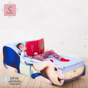 Кроватка Зайчик - Морячок