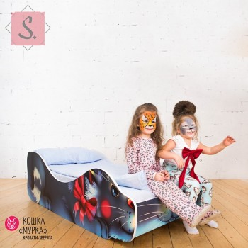 Кроватка Кошка - Мурка