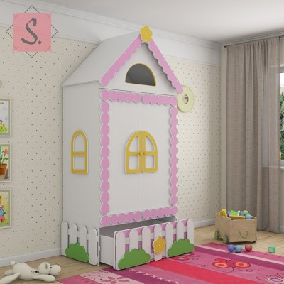 Детский шкаф Теремок