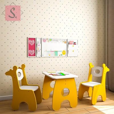 Детский столик Жираф