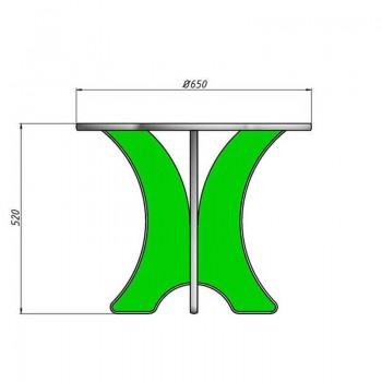 Столик и стульчики Ромашка