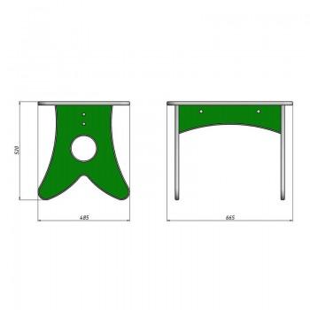 Столик и стульчики Ромашка 2